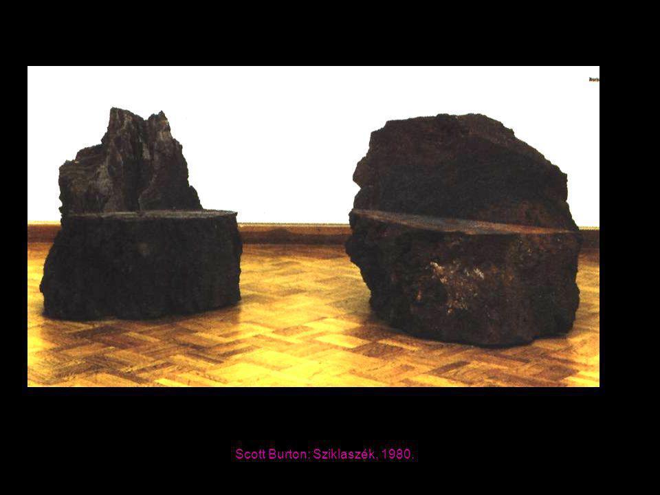 Scott Burton: Sziklaszék, 1980.