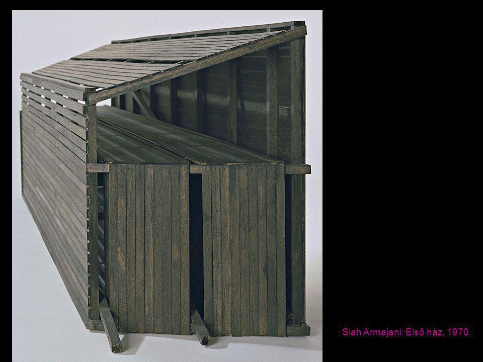 Siah Armajani: Első ház, 1970.