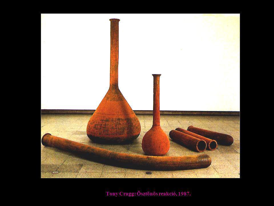 Tony Cragg: Ösztönös reakció, 1987.