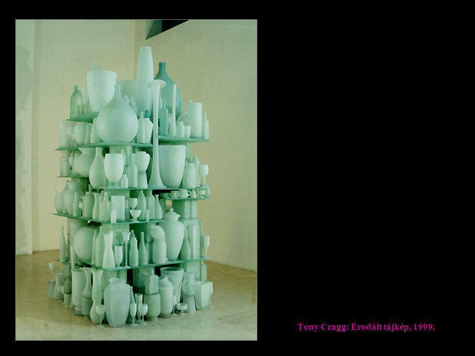 Tony Cragg: Erodált tájkép, 1999.