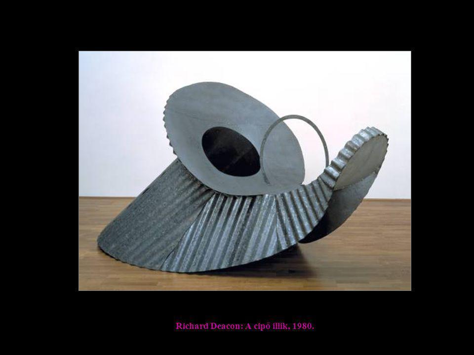 Richard Deacon: A cipő illik, 1980.