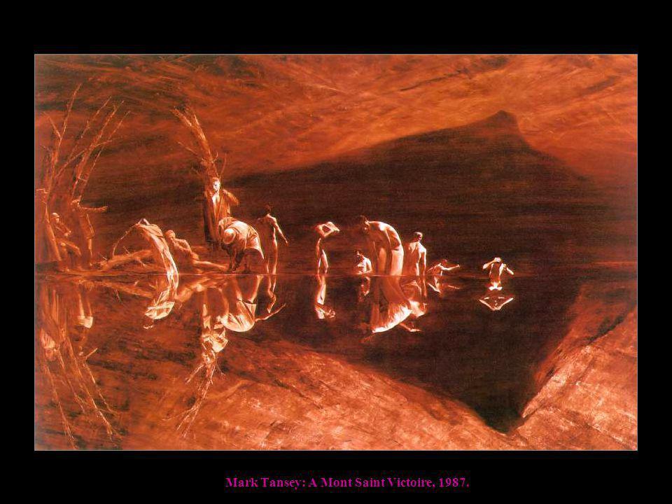 Mark Tansey: A Mont Saint Victoire, 1987.