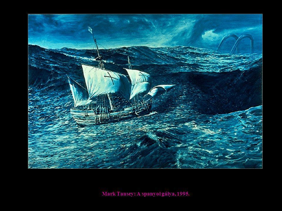 Mark Tansey: A spanyol gálya, 1995.