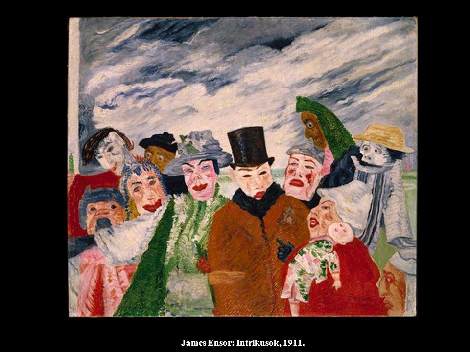 James Ensor: Intrikusok, 1911.