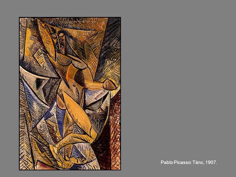 Pablo Picasso: Tánc, 1907.