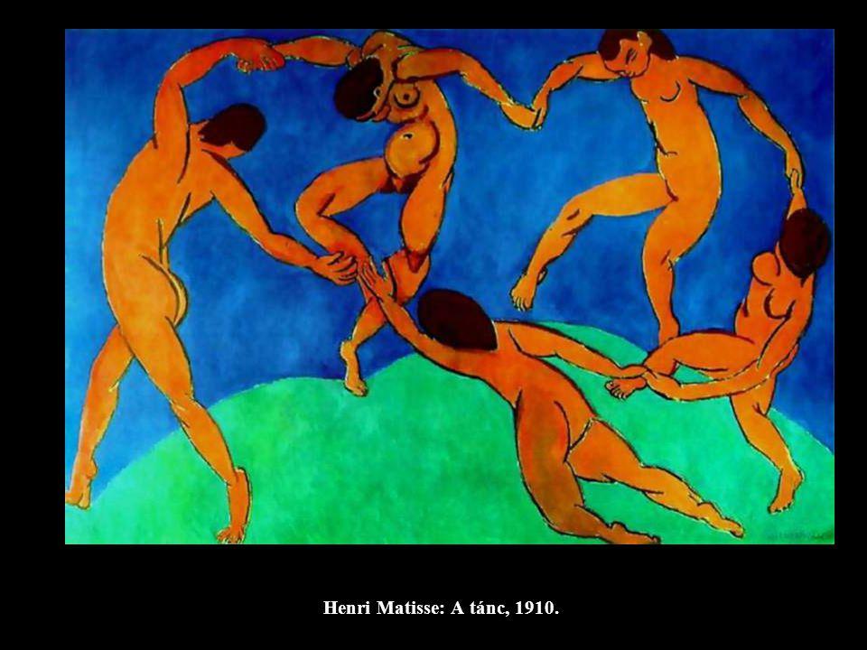 Henri Matisse: A tánc, 1910.
