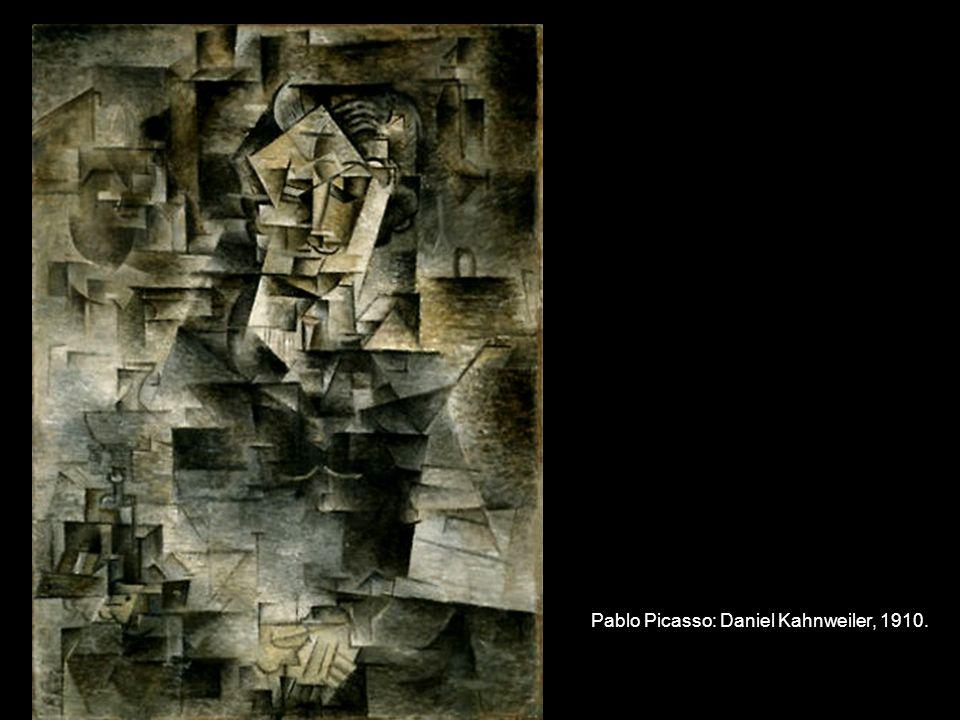 Pablo Picasso: Daniel Kahnweiler, 1910.