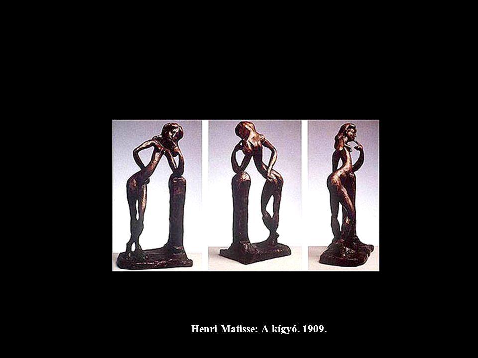 Henri Matisse: A kígyó. 1909.