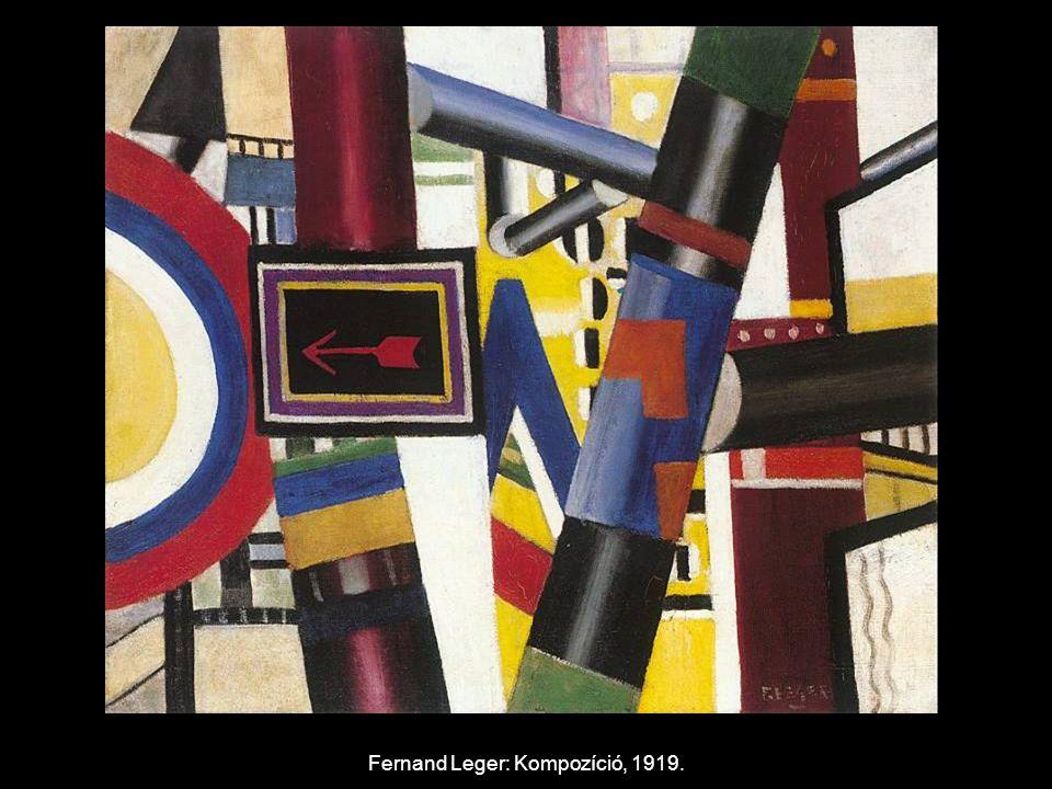 Fernand Leger: Kompozíció, 1919.