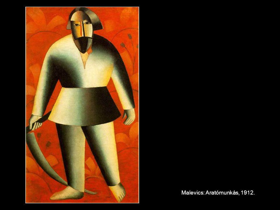 Malevics: Aratómunkás, 1912.