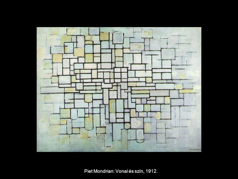Piet Mondrian: Vonal és szín, 1912.