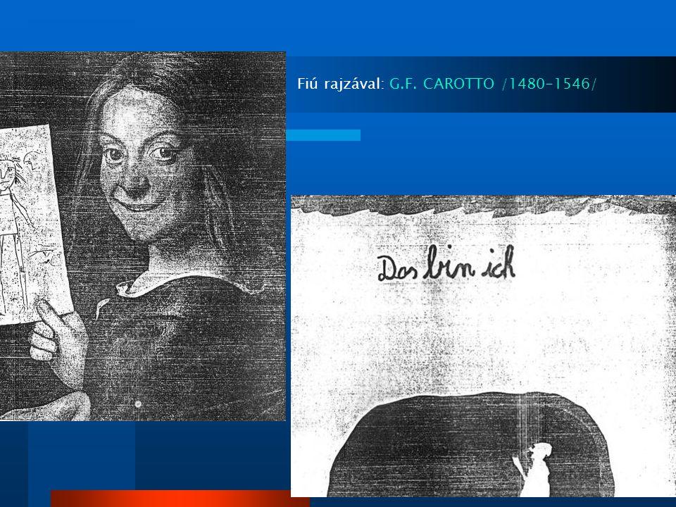 Fiú rajzával: G.F. CAROTTO /1480-1546/