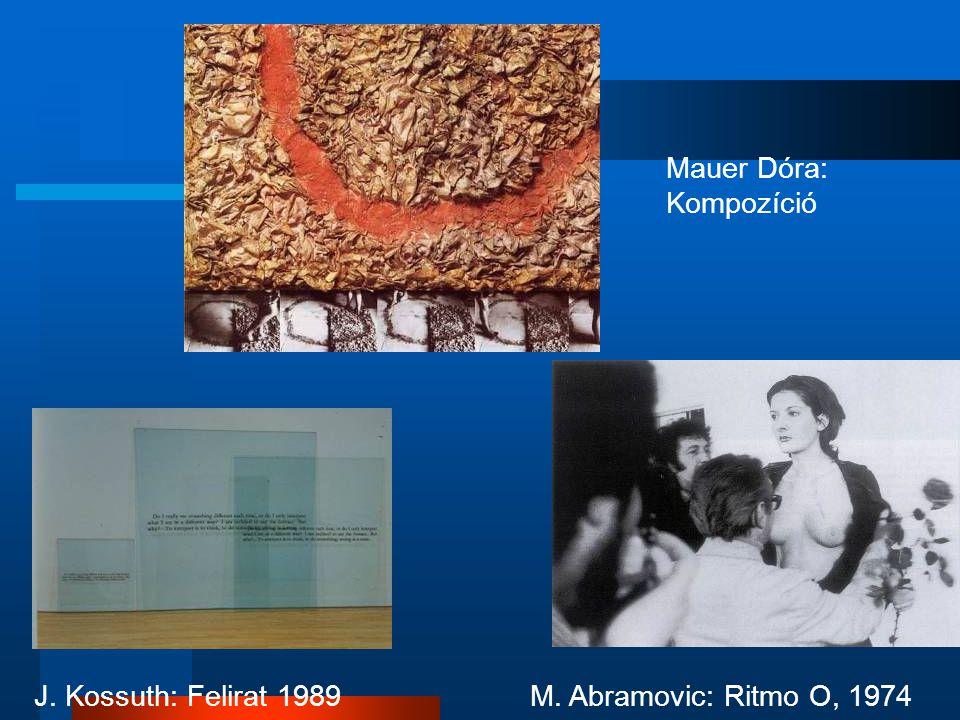 Mauer Dóra: Kompozíció