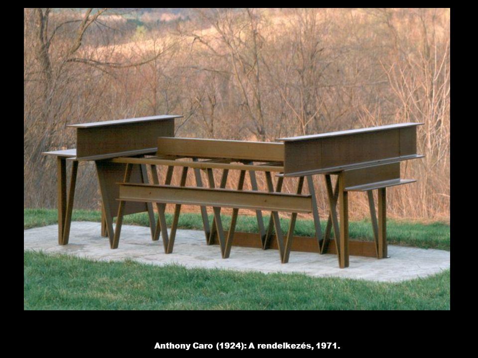 Anthony Caro (1924): A rendelkezés, 1971.