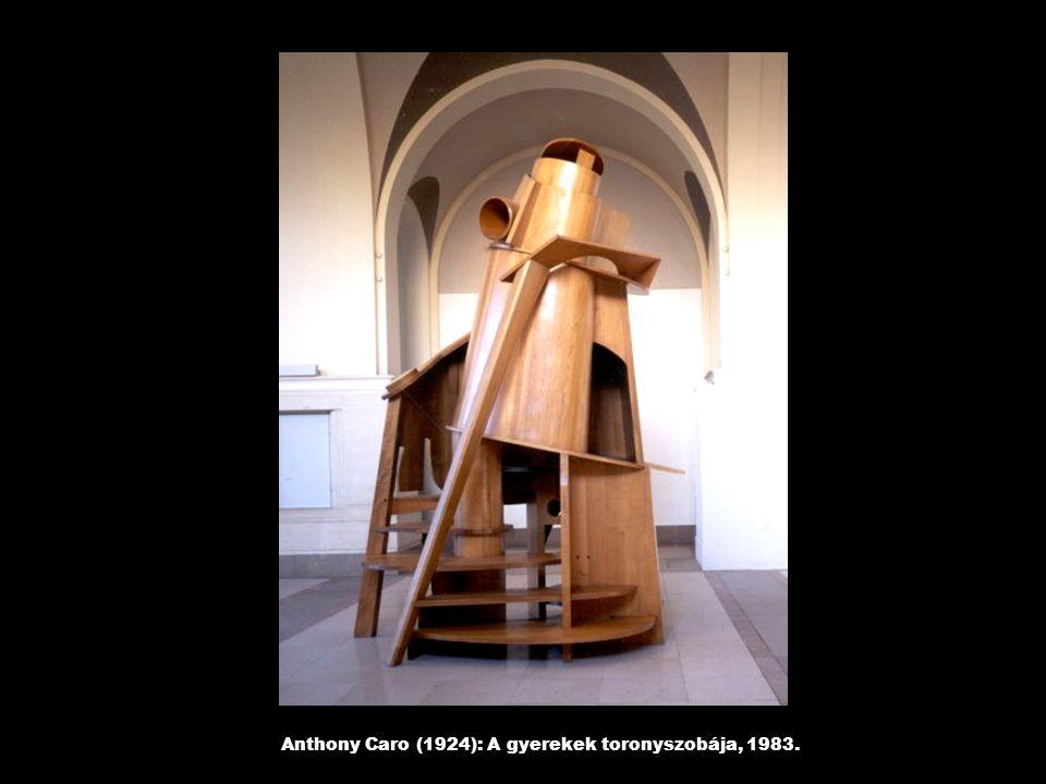 Anthony Caro (1924): A gyerekek toronyszobája, 1983.