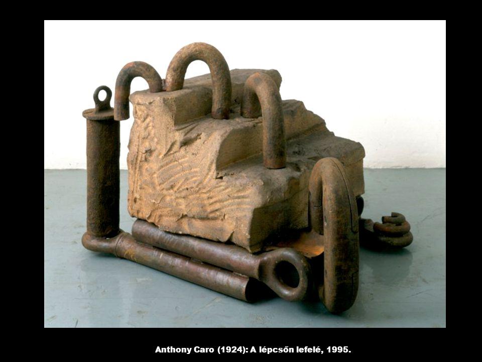 Anthony Caro (1924): A lépcsőn lefelé, 1995.