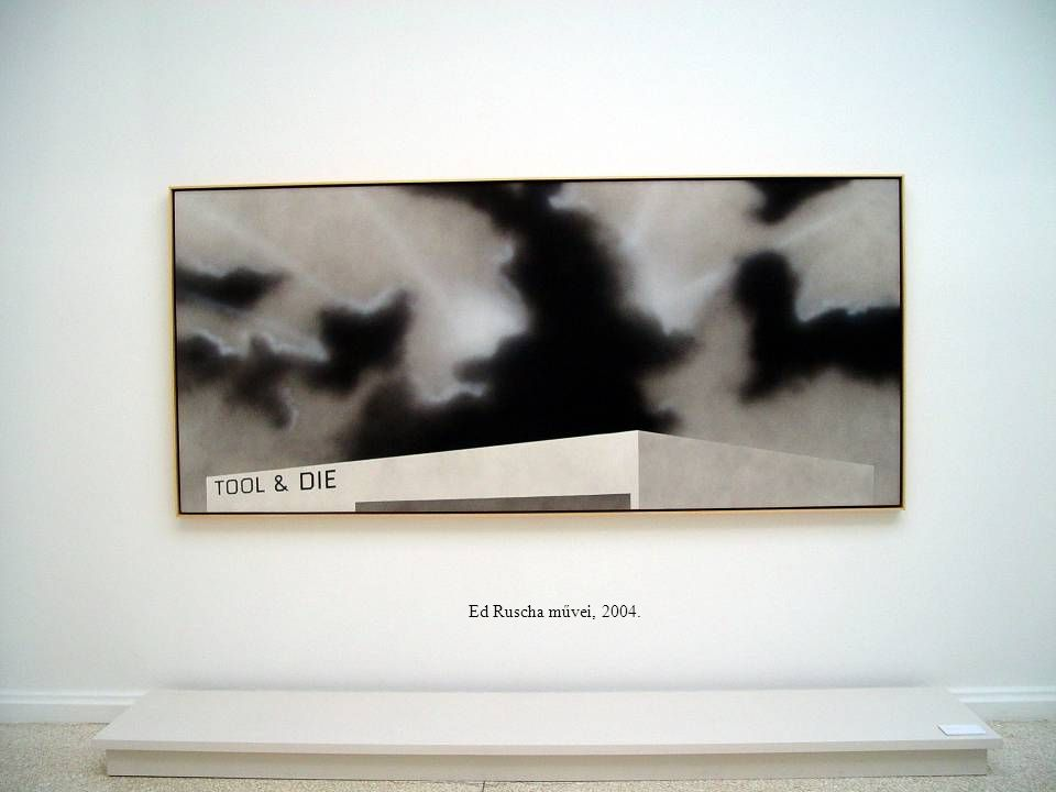 Ed Ruscha művei, 2004.