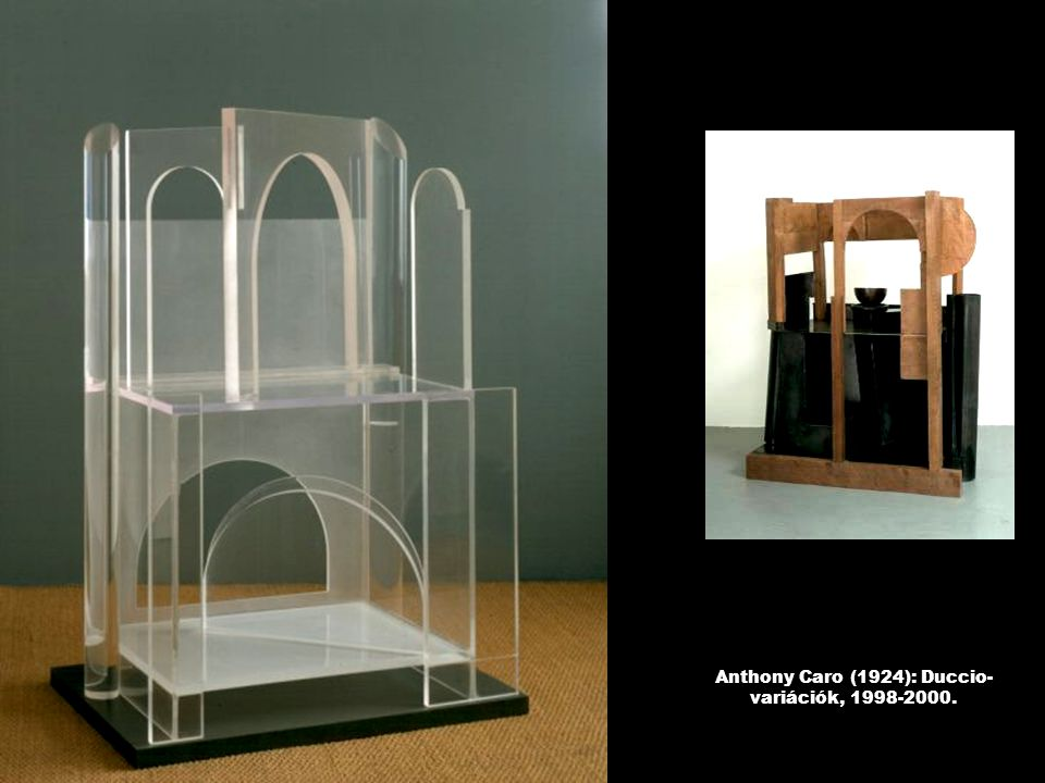 Anthony Caro (1924): Duccio-variációk, 1998-2000.