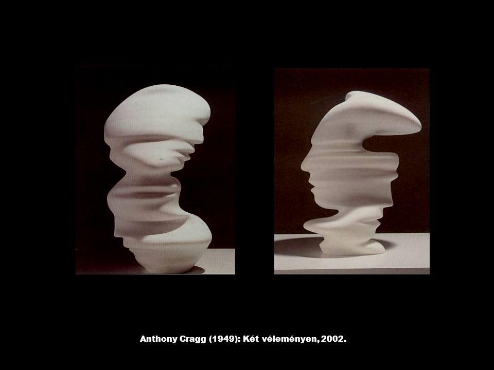 Anthony Cragg (1949): Két véleményen, 2002.