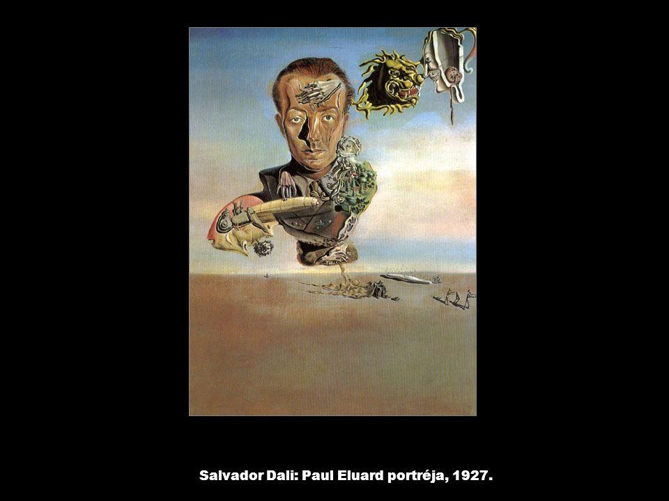 Salvador Dali: Paul Eluard portréja, 1927.