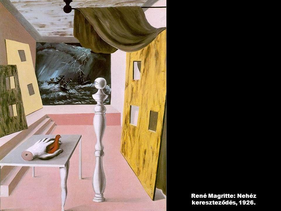 René Magritte: Nehéz kereszteződés, 1926.