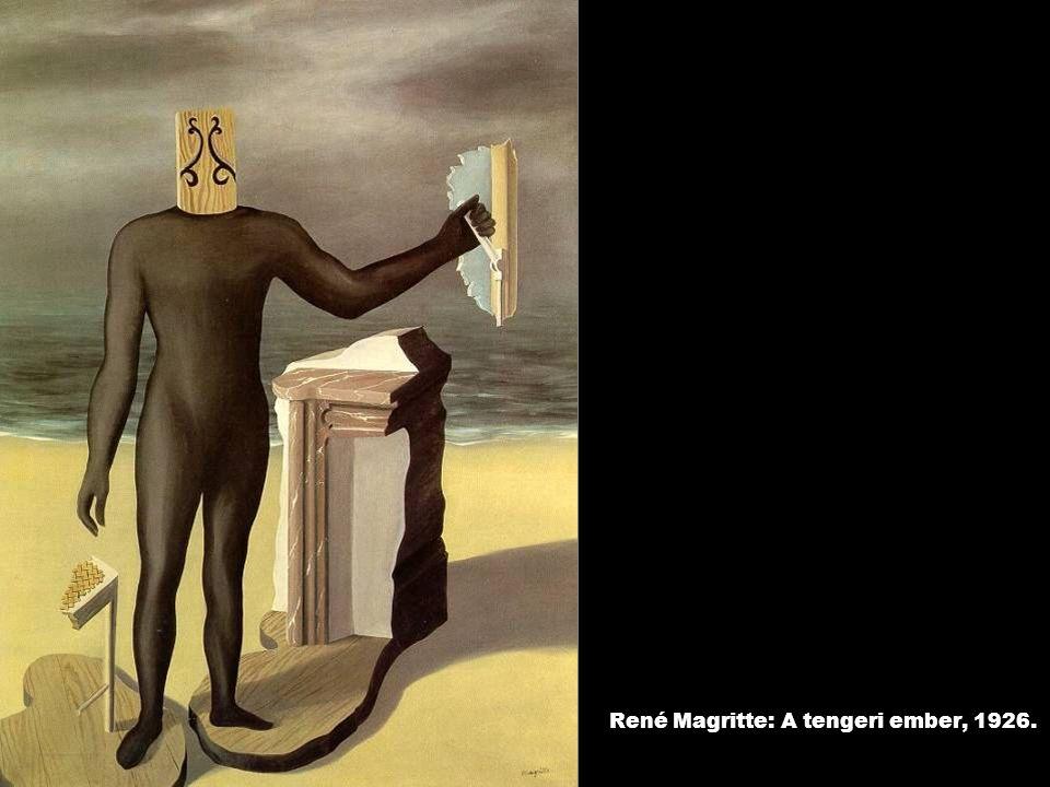 René Magritte: A tengeri ember, 1926.