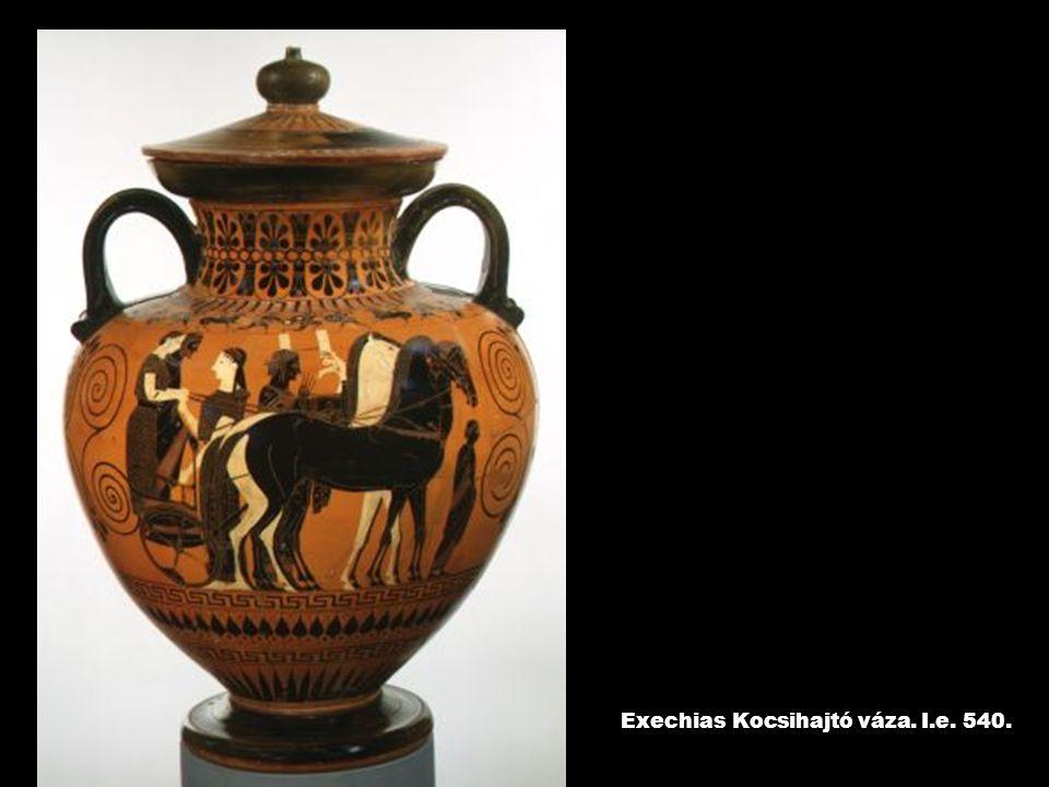 Exechias Kocsihajtó váza. I.e. 540.