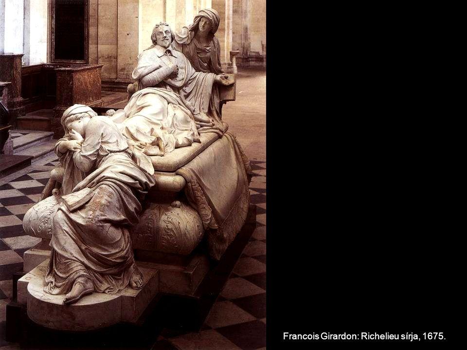 Francois Girardon: Richelieu sírja, 1675.