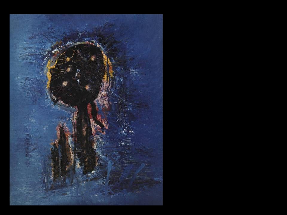 Wols: Kék fantom, 1954.