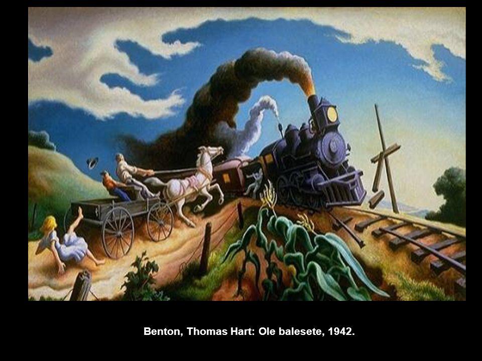 Benton, Thomas Hart: Ole balesete, 1942.