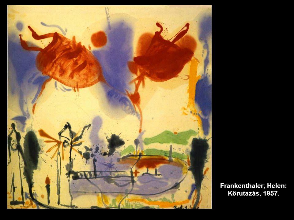 Frankenthaler, Helen: Körutazás, 1957.