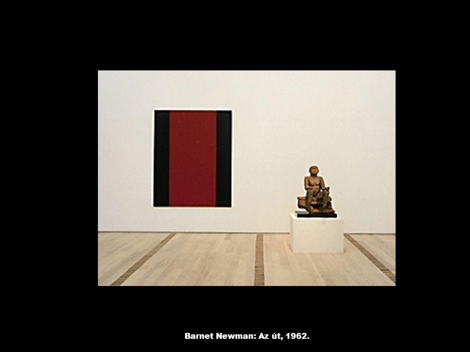 Barnet Newman: Az út, 1962.