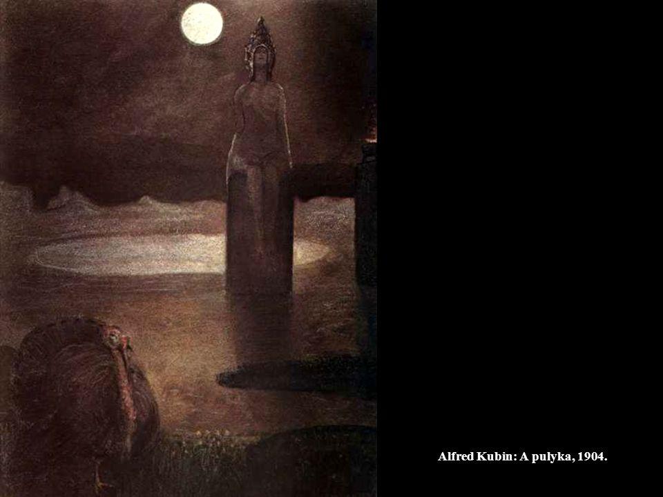 Alfred Kubin: A pulyka, 1904.