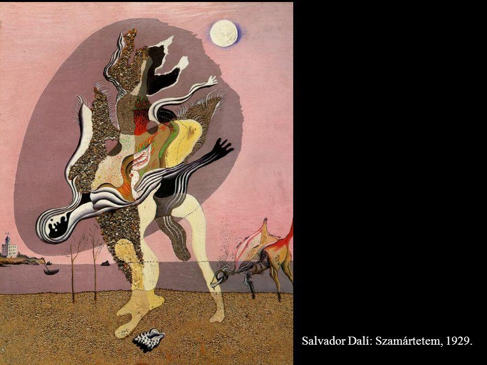 Salvador Dalí: Szamártetem, 1929.