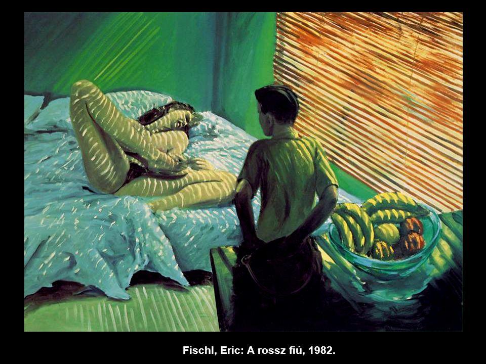 Fischl, Eric: A rossz fiú, 1982.