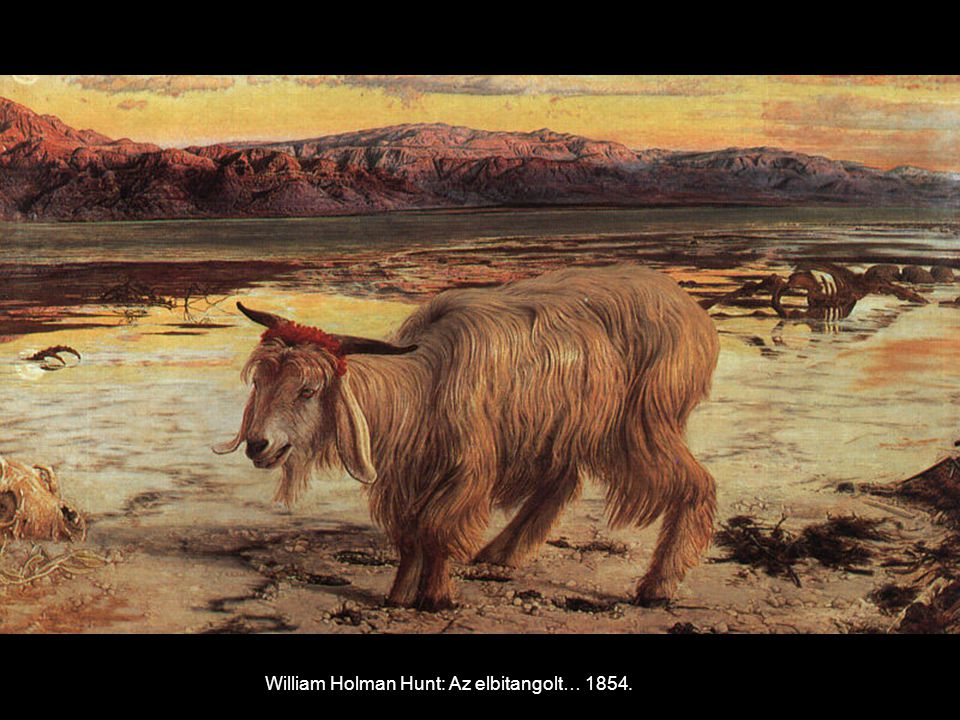 William Holman Hunt: Az elbitangolt… 1854.