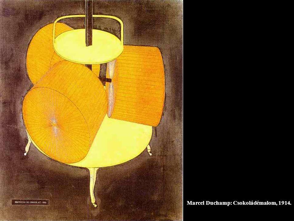 Marcel Duchamp: Csokoládémalom, 1914.