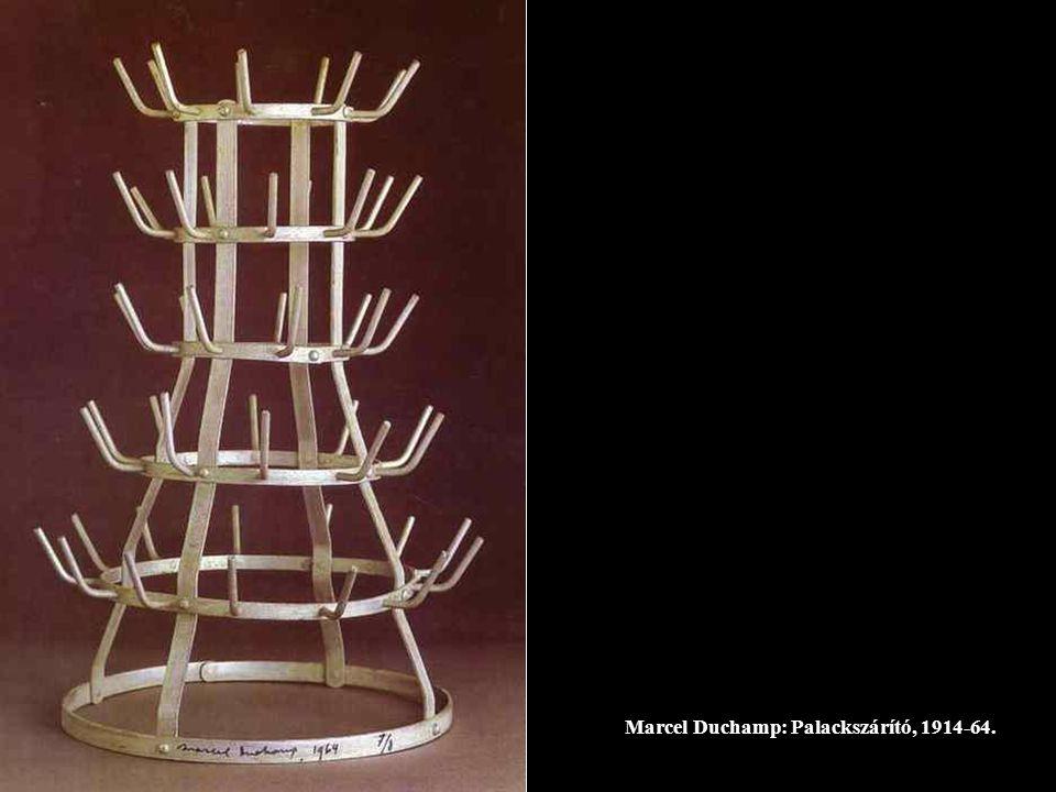 Marcel Duchamp: Palackszárító, 1914-64.