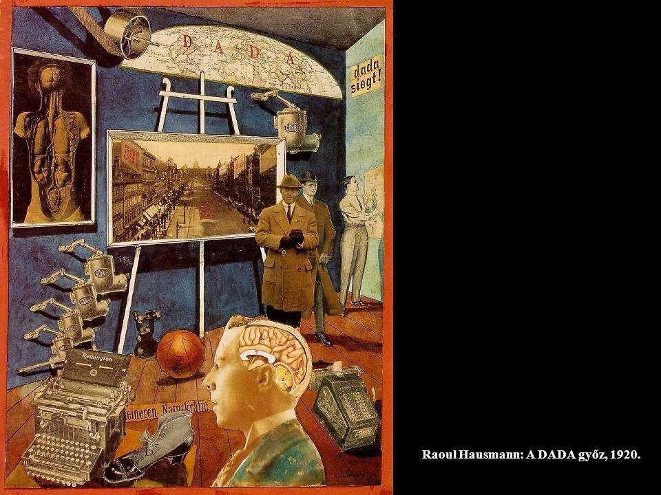 Raoul Hausmann: A DADA győz, 1920.