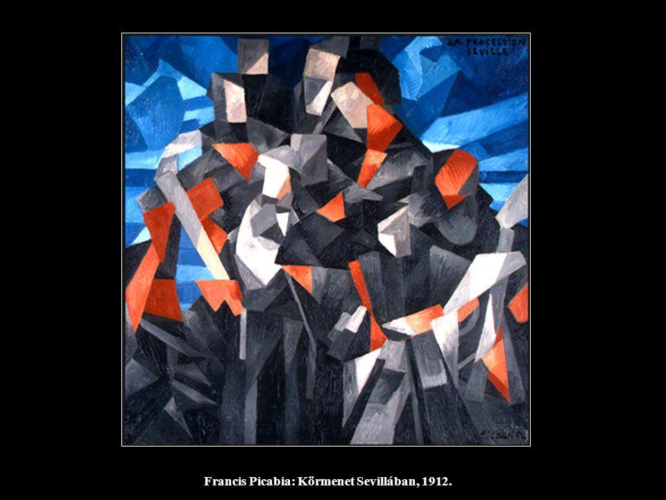 Francis Picabia: Körmenet Sevillában, 1912.