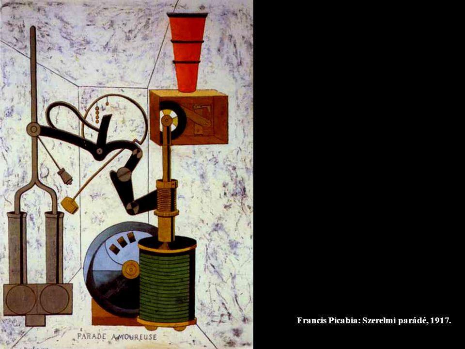 Francis Picabia: Szerelmi parádé, 1917.