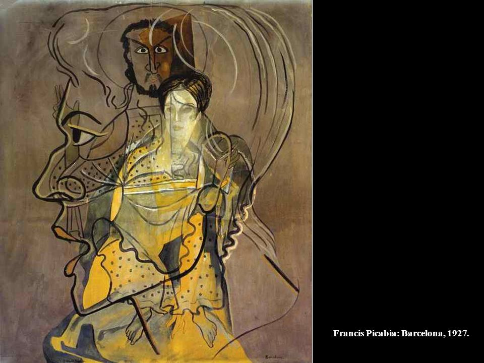 Francis Picabia: Barcelona, 1927.