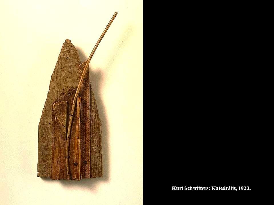 Kurt Schwitters: Katedrális, 1923.