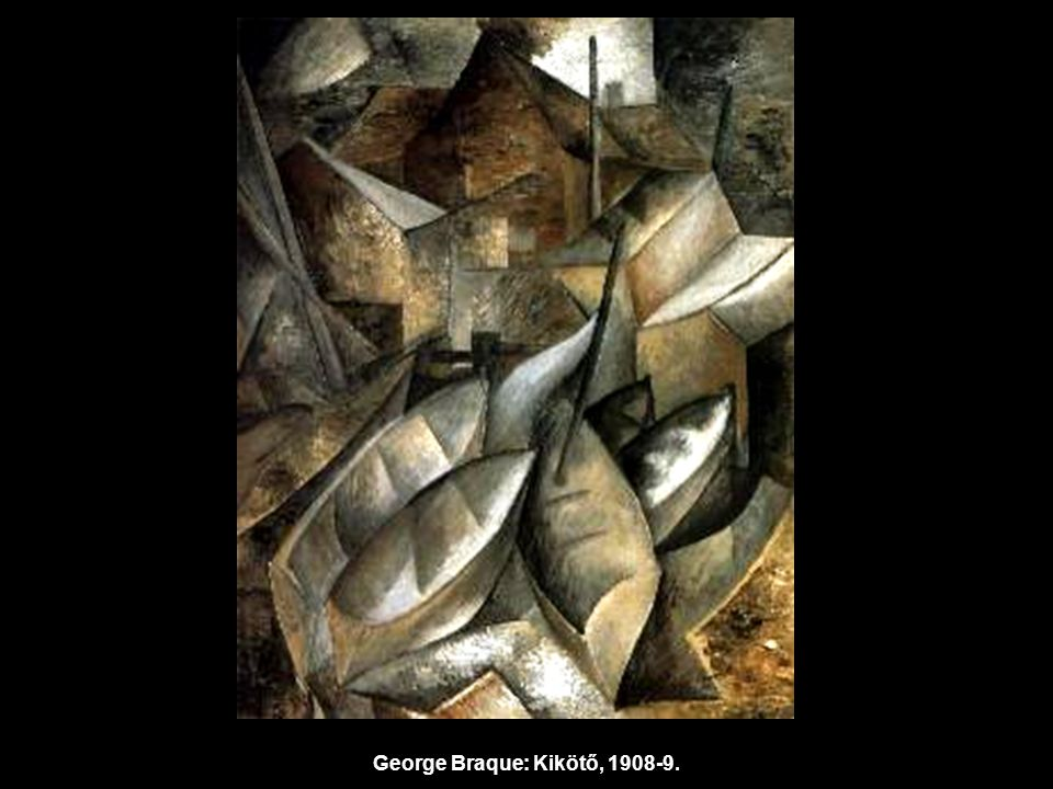 George Braque: Kikötő, 1908-9.