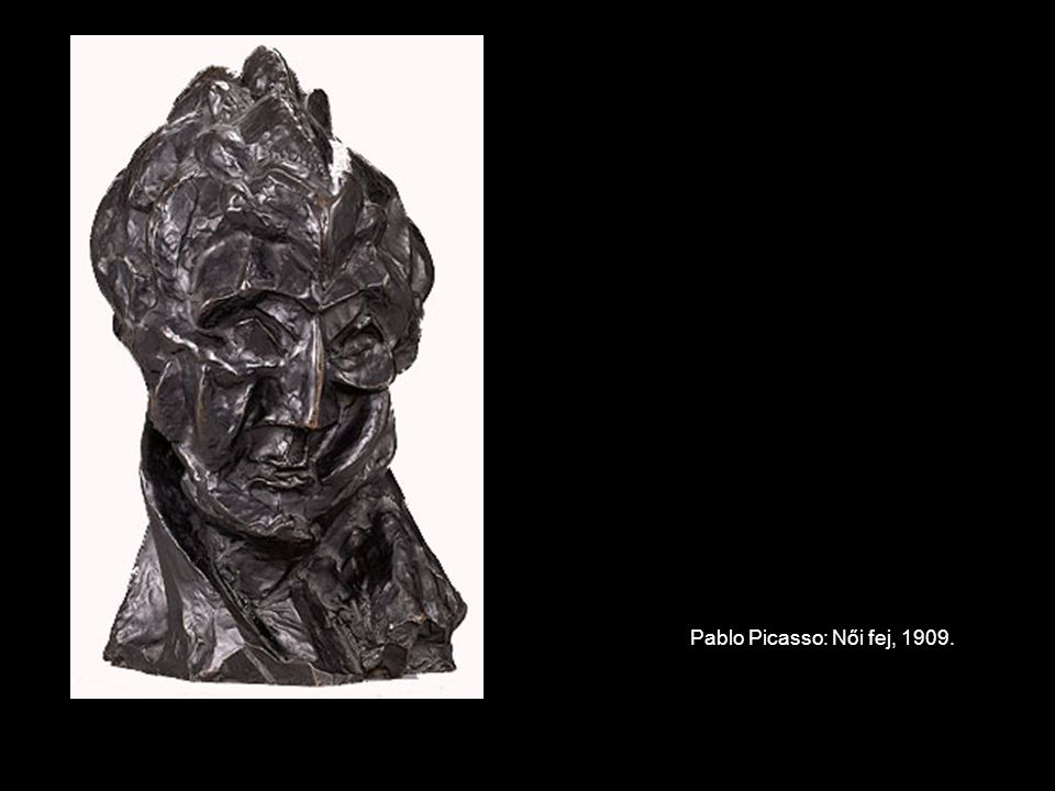 Pablo Picasso: Női fej, 1909.