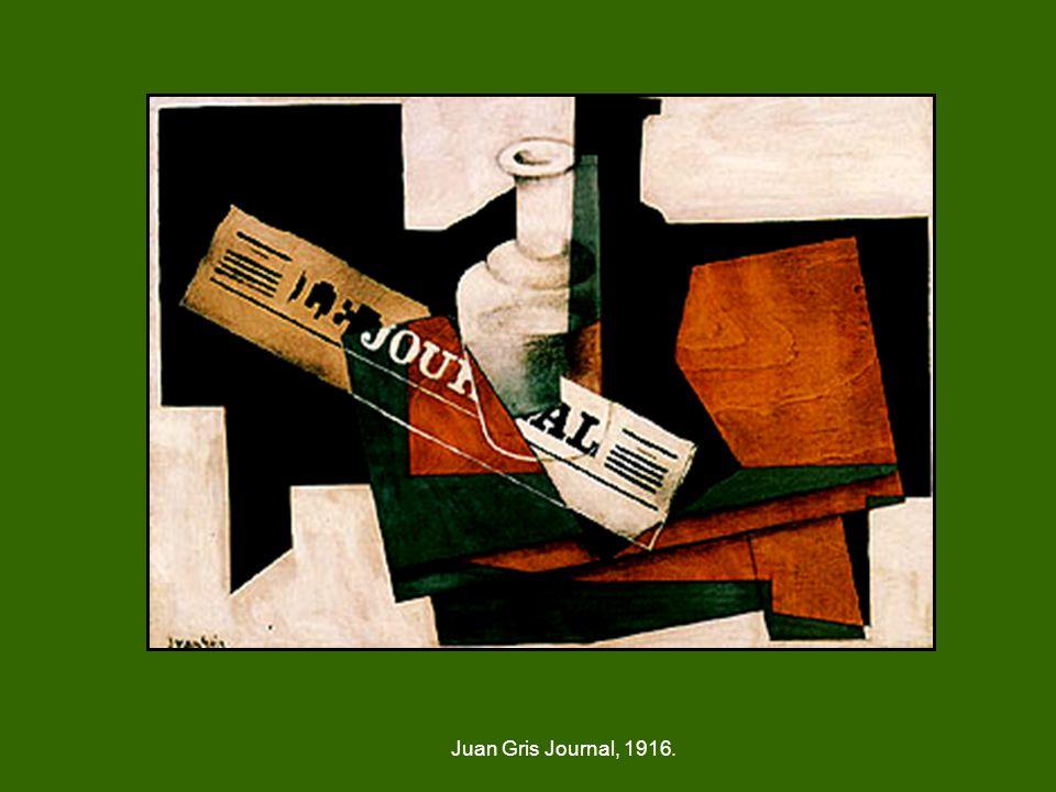 Juan Gris Journal, 1916.