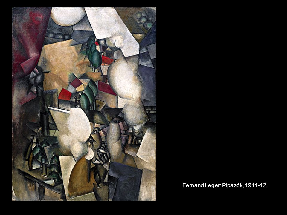 Fernand Leger: Pipázók, 1911-12.