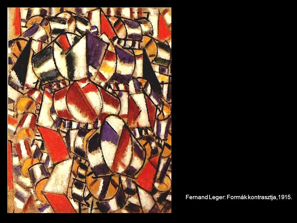 Fernand Leger: Formák kontrasztja,1915.