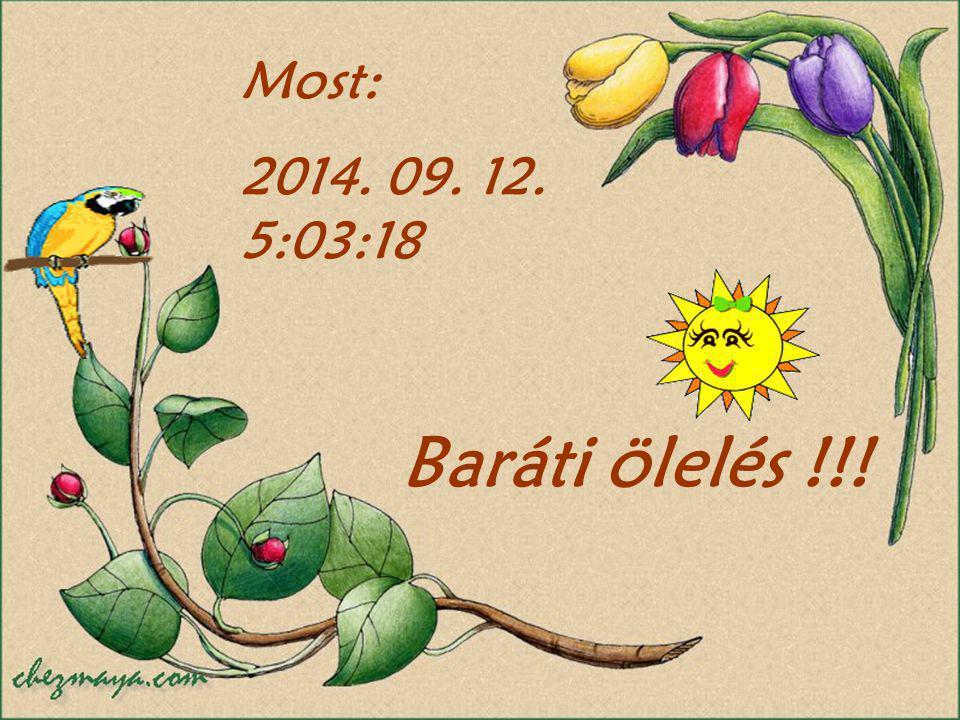 Most: 2017.04.05. 1:19:23 Baráti ölelés !!!
