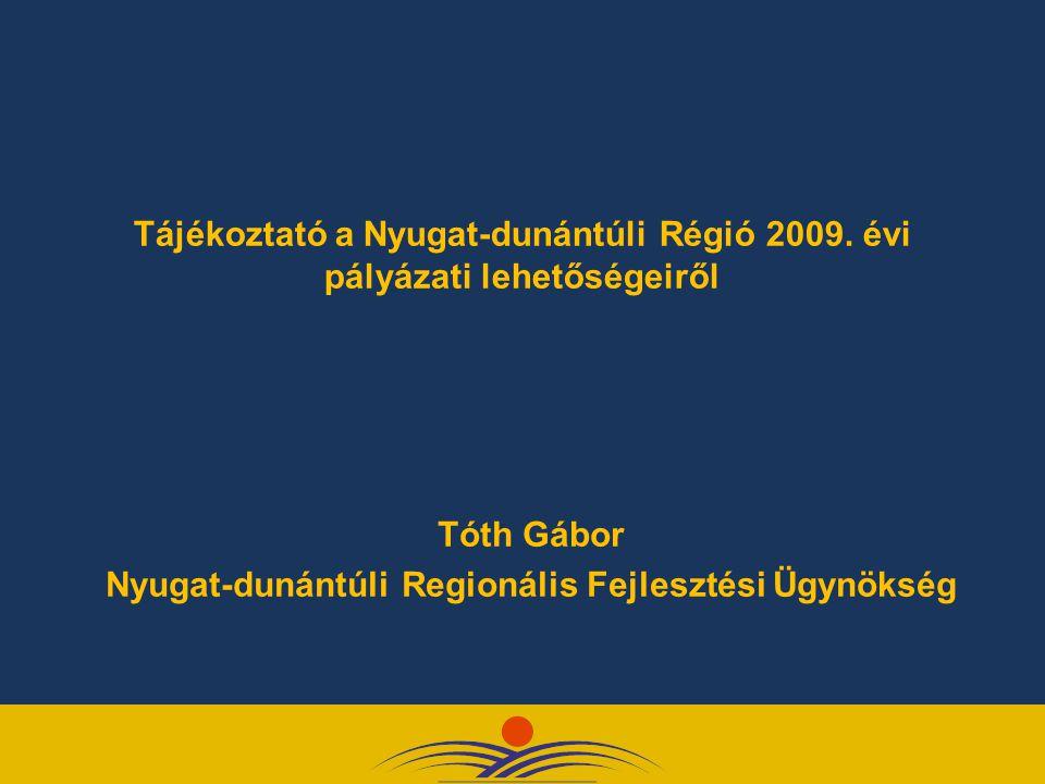 Nyugat-dunántúli Regionális Fejlesztési Ügynökség